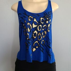 579 Blue Woman's Top